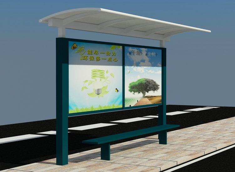 公交站臺圖片